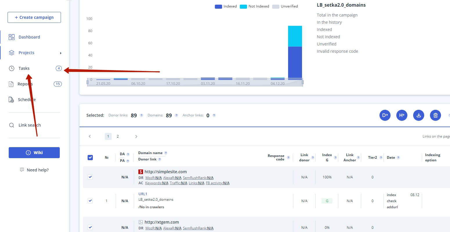 free backlink report